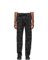 Fear Of God Black Logo Baggy Lounge Pants