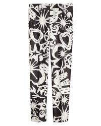 Alexander McQueen Papercut Print Trousers