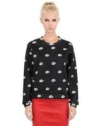 American Retro Annette Printed Techno Sweatshirt
