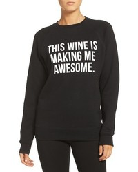 Brunette the label this wine crewneck sweatshirt medium 3638689
