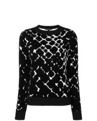 Marc Jacobs Chain Link Fence Pattern Sweater