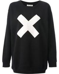 Each x other oversized x print sweatshirt medium 102409