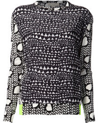 Stella McCartney Heart Print Sweater