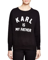 Eleven Paris Karl Is My Father Sweatshirt