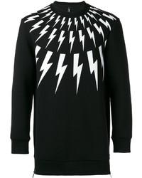 Neil Barrett Lightning Bolt Sweatshirt