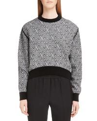 Givenchy Logo Pattern Sweater