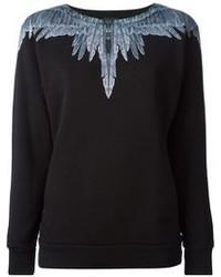 Marcelo Burlon County of Milan Feather Print Sweatshirt
