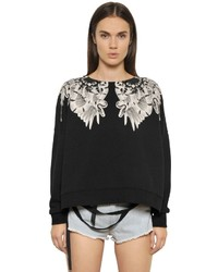 Marcelo Burlon County of Milan Morelia Printed Cotton Sweatshirt