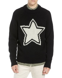 French Connection Star Wool Sweater
