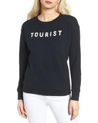 Mother The Big Easy Destructed Sweatshirt