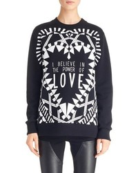 Givenchy Power Of Love Graphic Cotton Sweatshirt