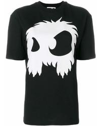 MCQ Alexander Ueen Monster Print T Shirt