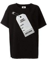 MM6 MAISON MARGIELA Archive Tag Printed T Shirt