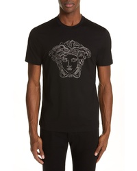 Versace Beaded Medusa T Shirt