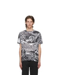 Paul Smith Black And White Chilean Print T Shirt
