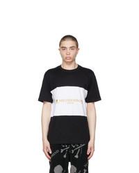 Mastermind World Black And White Horizontal T Shirt