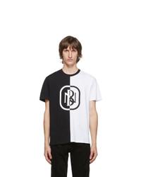 Neil Barrett Black And White New Logo T Shirt