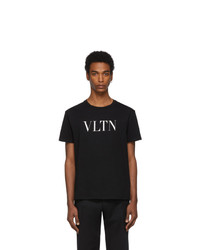 Valentino Black And White Vltn T Shirt