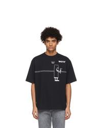 Acne Studios Black Beni Biscof Edition Motf T Shirt