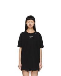 Off-White Black Caravaggio Arrows T Shirt