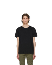 Rag and Bone Black Classic Pixel T Shirt