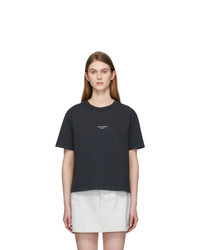 Acne Studios Black Edie Stamp T Shirt
