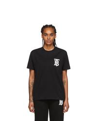 Burberry Black Emerson T Shirt