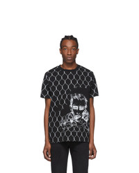 Off-White Black Fence T Shirt