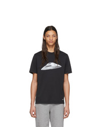 Ps By Paul Smith Black Flying Saucer T Shirt
