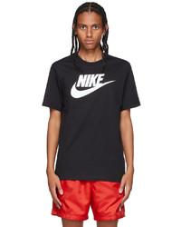 Nike Black Icon Futura T Shirt