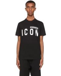 DSQUARED2 Black Icon T Shirt
