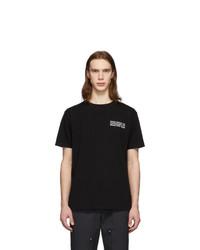 Wood Wood Black Info T Shirt