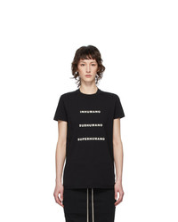 Rick Owens DRKSHDW Black Inhumano T Shirt