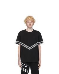 Givenchy Black Logo Chain T Shirt