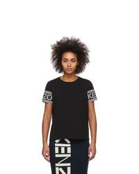 Kenzo Black Logo Sport T Shirt
