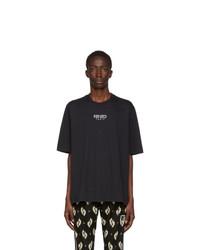 Kenzo Black Logo Sports T Shirt