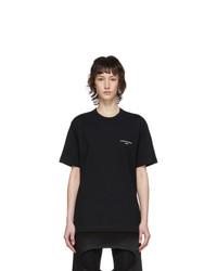 Comme des Garcons Homme Plus Black Logo T Shirt