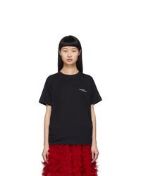 Tricot Comme des Garcons Black Logo T Shirt