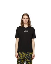 McQ Alexander McQueen Black Logo T Shirt