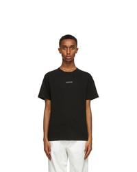 Valentino Black Logo T Shirt