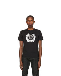 Versace Black Medusa Laurel T Shirt