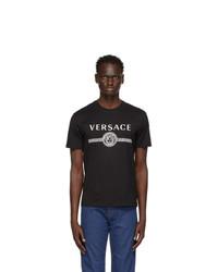 Versace Black Medusa Logo T Shirt