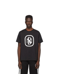 Neil Barrett Black New Logo T Shirt