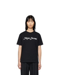 Marc Jacobs Black New York Magazine Edition The Logo T Shirt