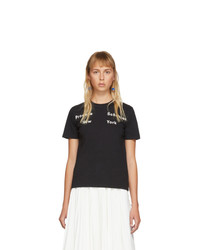 Proenza Schouler Black New York T Shirt