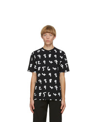 Paul Smith Black Numbers T Shirt