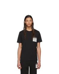 Maison Margiela Black Organic Cotton Stereotype T Shirt