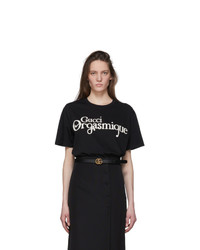 Gucci Black Orgasmique T Shirt