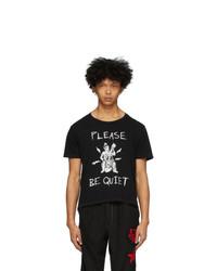 Worstok Black Quiet Rocker T Shirt