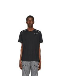 Nike Black Rise 365 T Shirt